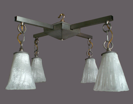 Mission Arts and Crafts Chandeliers GHC-20