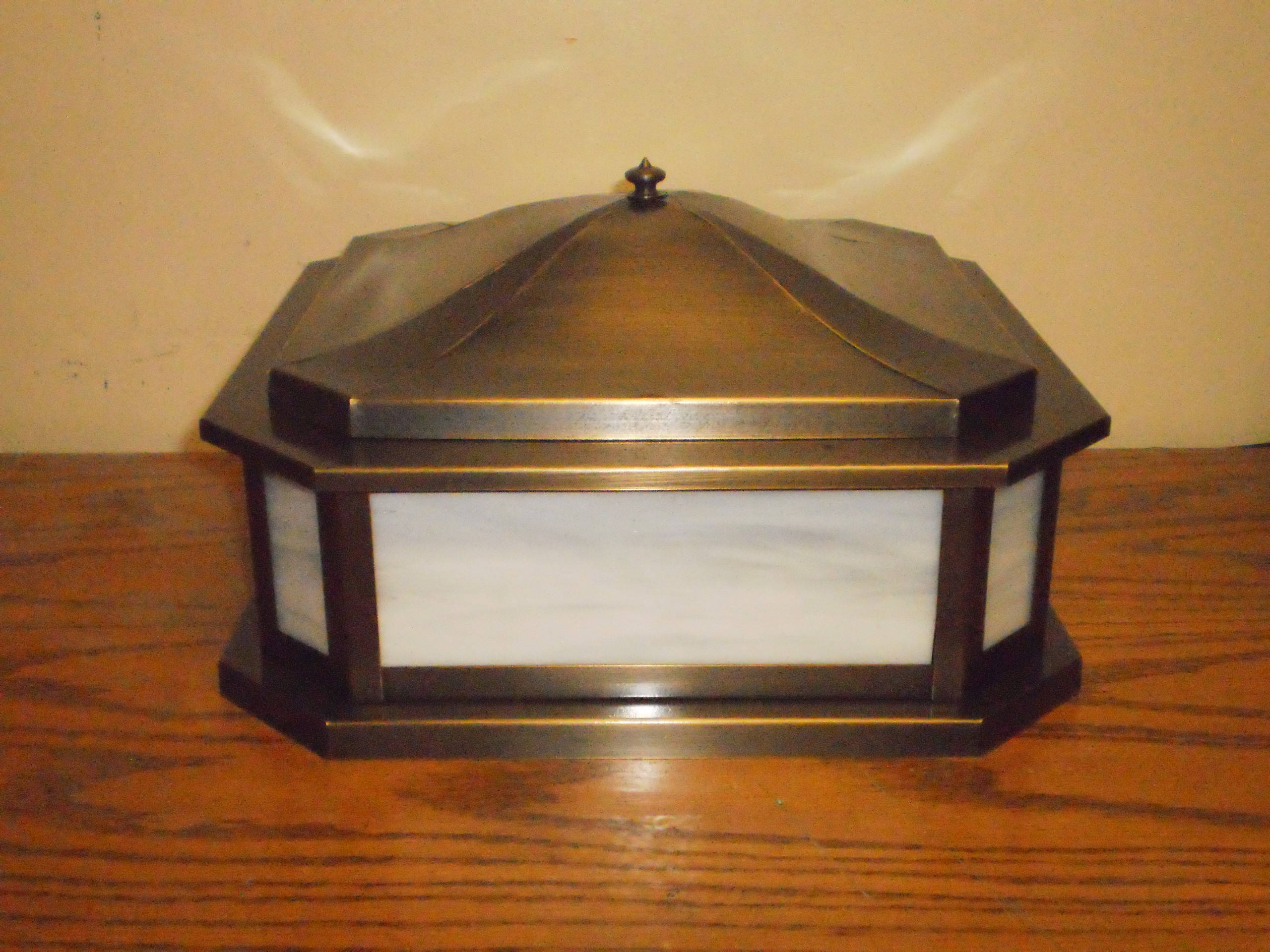 Mission Arts and Crafts Column and Pier Mount cm12